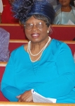 Mother Jenkins at St Paul AME in Gray,GA. on Family & Friends Day 2011.
