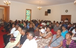 A full house of worshipers at St Paul AME Church in Gray,GA on their Family & Friends Day in 2011